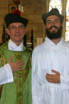 Father Battrick & Ordinand Johnston 3-14