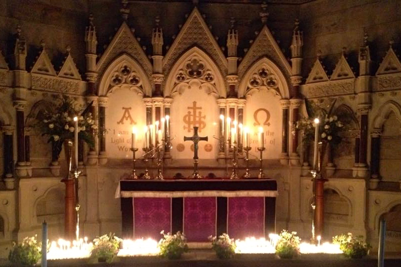 2014 St Peter's Church - All Souls Service of Remembrance 1