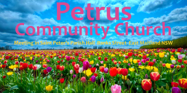 Petrus Community Church – Tomorrow at 5pm