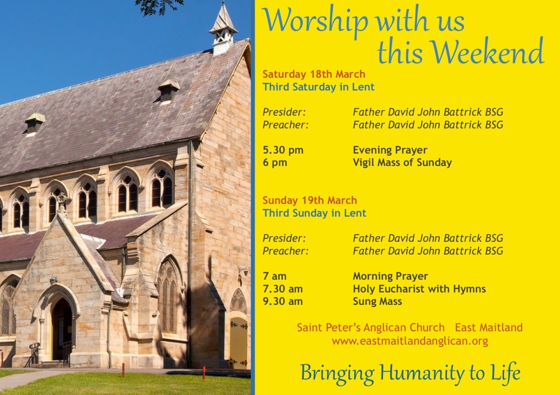 2017-03-19 Weekend Services