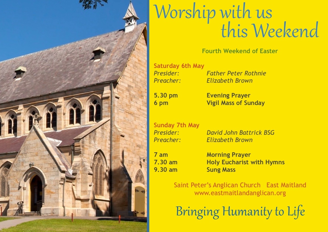2017-05-07 Weekend Services