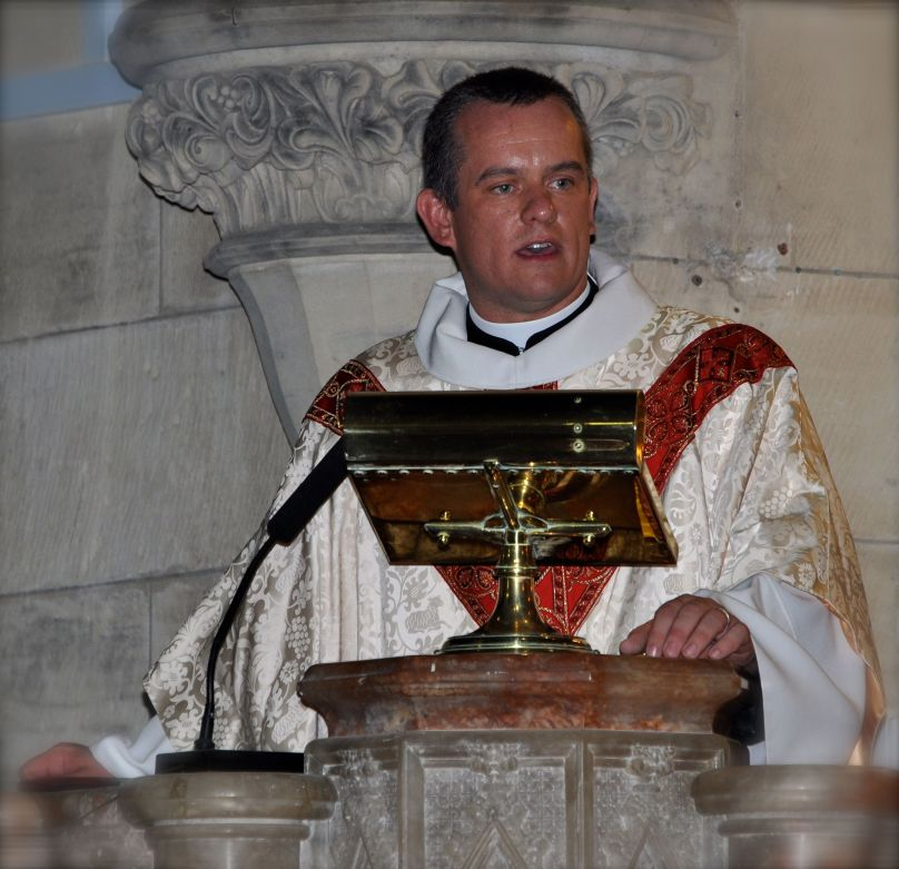 2012-11 Commissioning of Fr David 1
