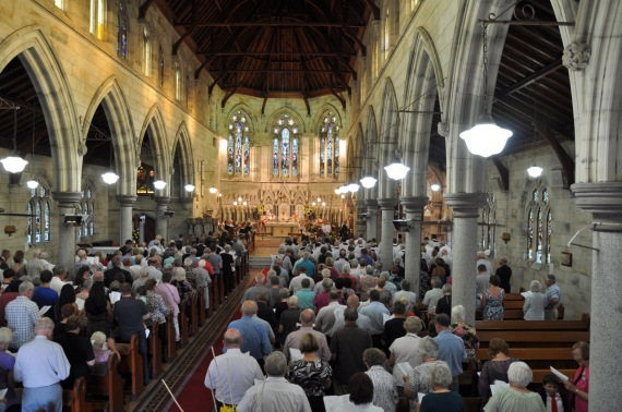 2012-11 Commissioning of Fr David 12