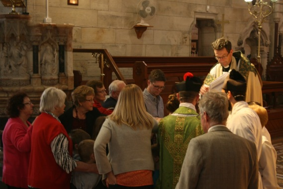 2014 Commissioning of Elizabeth Brown 13
