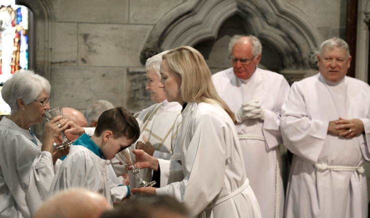 2018 Commissioning of Angela Peverell 30