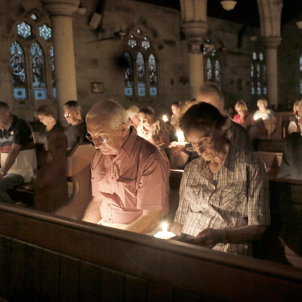 Photos from Holy Week: Holy Saturday EasterVigil