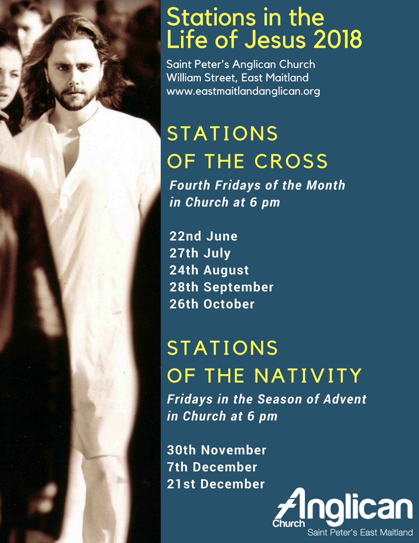 Stations of the Cross updated for Second Half of 2018