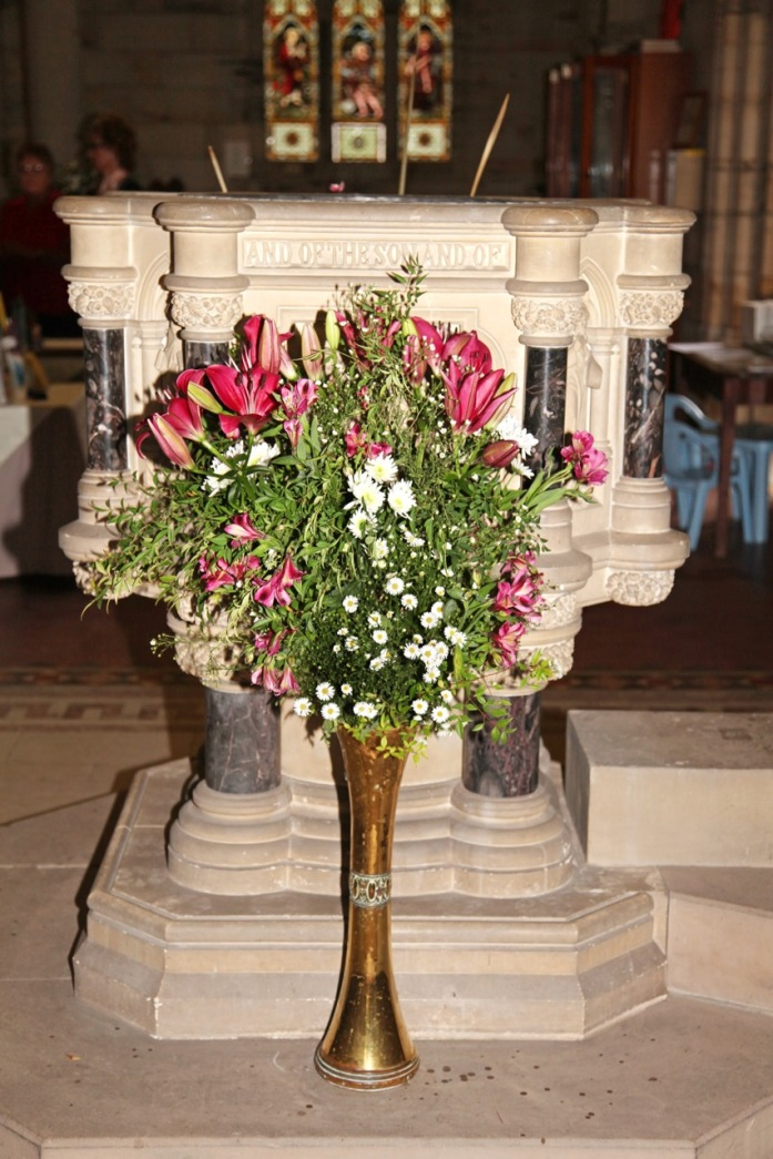 Flowers in Church 11