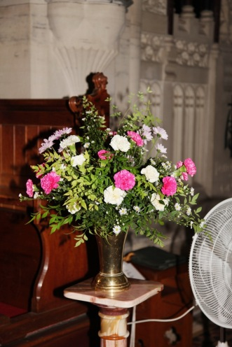 Flowers in Church 12