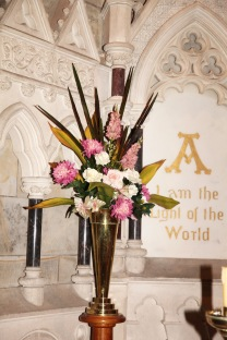 Flowers in Church 13