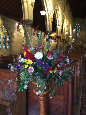 Flowers in Church 16