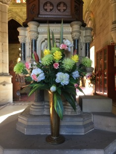 Flowers in Church 17