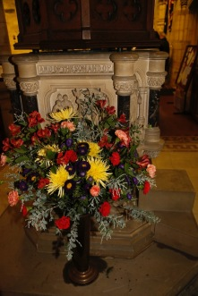 Flowers in Church 2