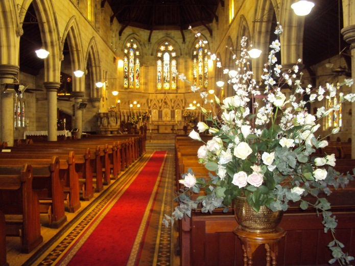 Flowers in Church 20