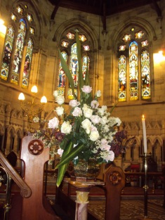 Flowers in Church 23