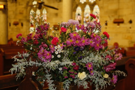 Flowers in Church 3