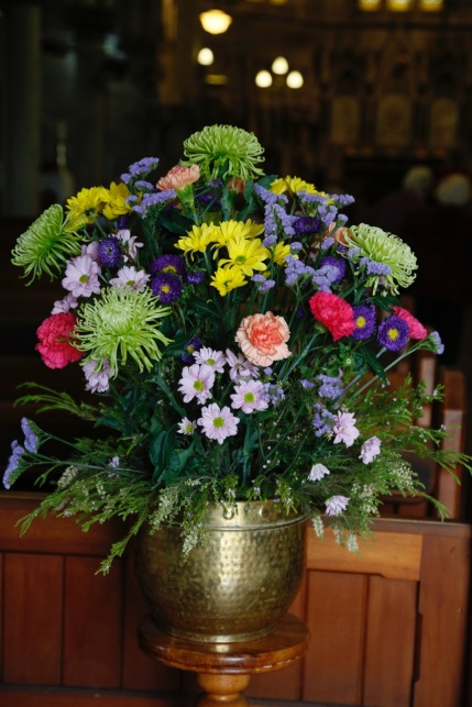 Flowers in Church 6