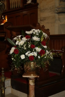 Flowers in Church 7