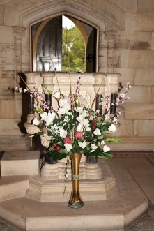 Flowers in Church 9