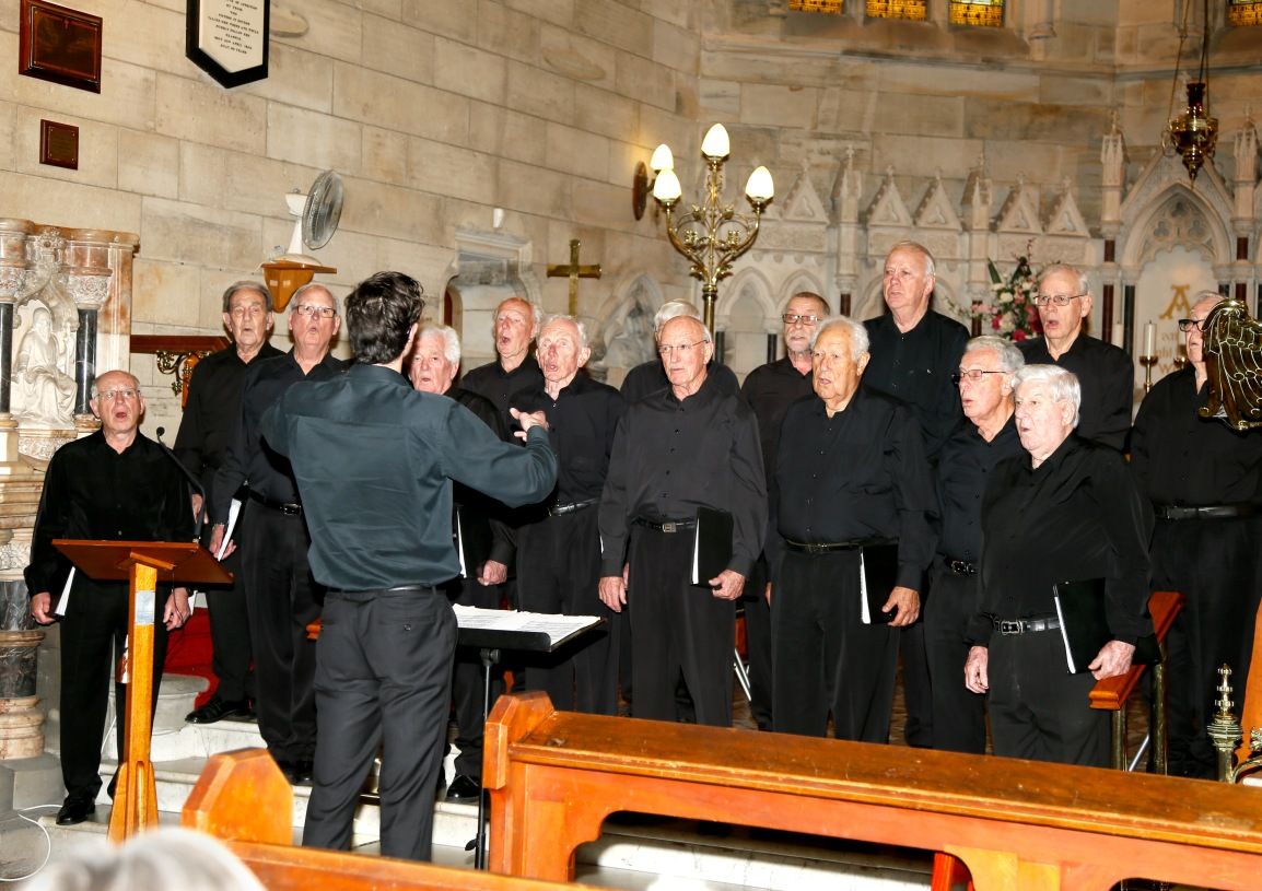 Join us this Sunday to Enjoy the Sydney Men's ShedChorale