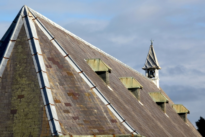 Church Exterior - Roof - 1