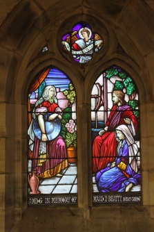 Church Historic Stained Glass - 13
