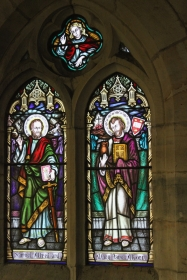 Church Historic Stained Glass - 18