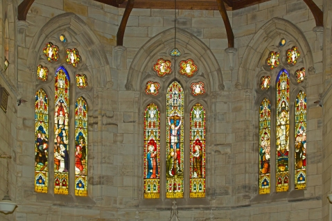 Church Historic Stained Glass - 29