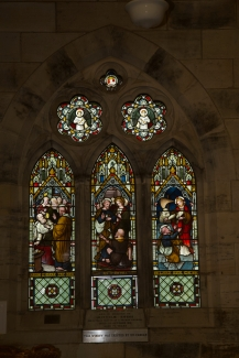 Church Historic Stained Glass - 3