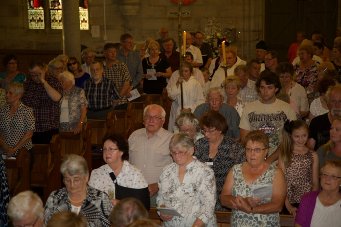 Church Interior with Congregation - 11