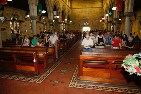 Church Interior with Congregation - 6