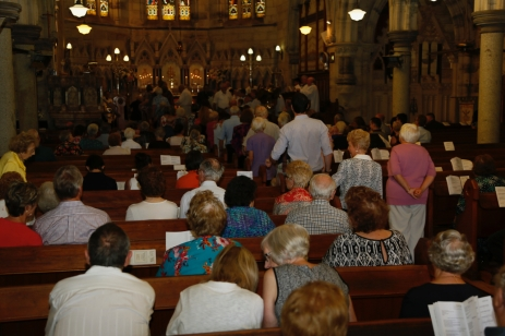 Church Interior with Congregation - 8